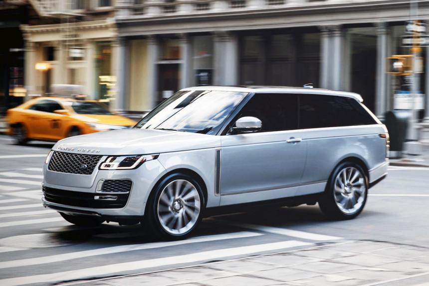 Серийной трехдверки Range Rover SV Coupe не будет