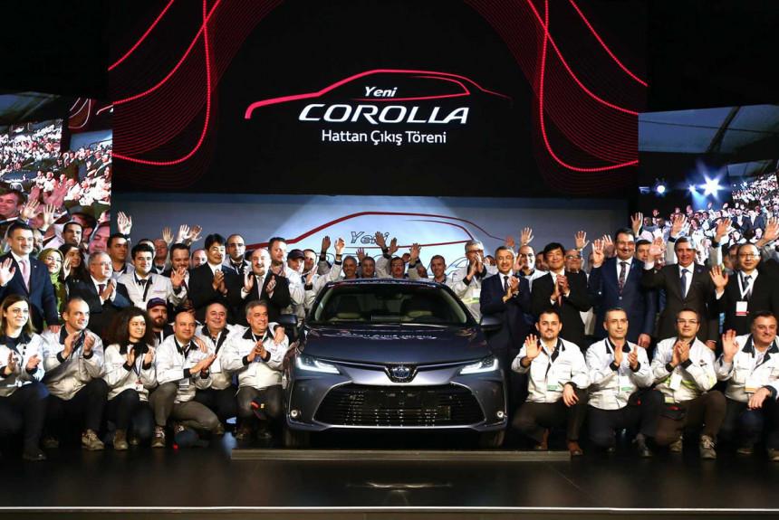ВТурции стартовала сборка новоиспеченной Тоёта Corolla для РФ