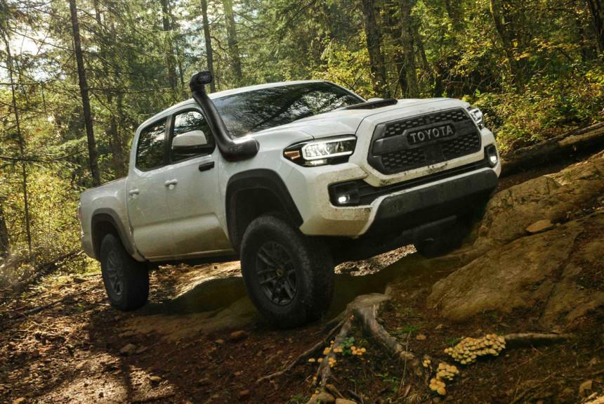 Обновленный пикап Toyota Tacoma стал богаче