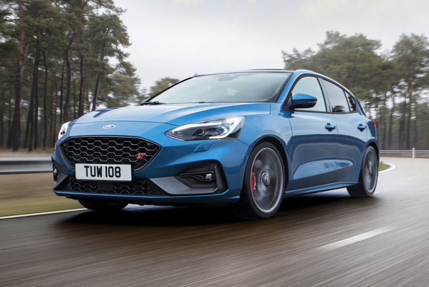 Новый Форд  FocusST стал самым быстрым вистории модели