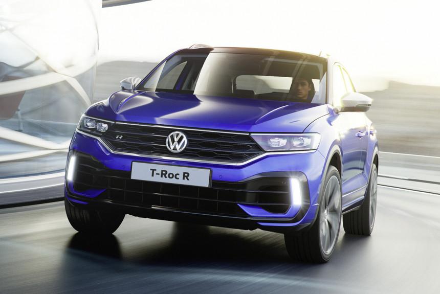 Представлен 300-сильный паркетник VW T-Roc R