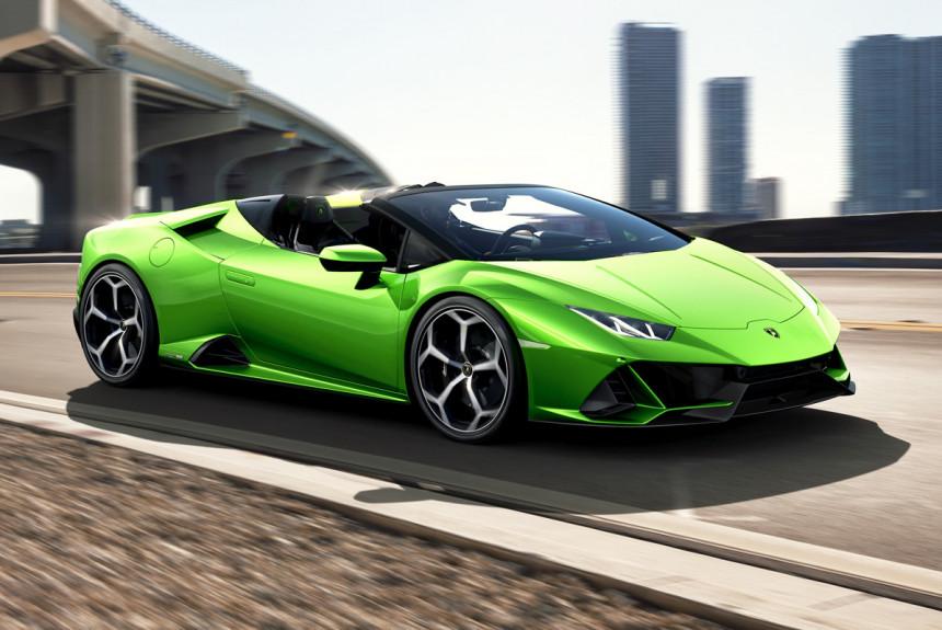Lamborghini Huracan Evo эволюционировал вродстер