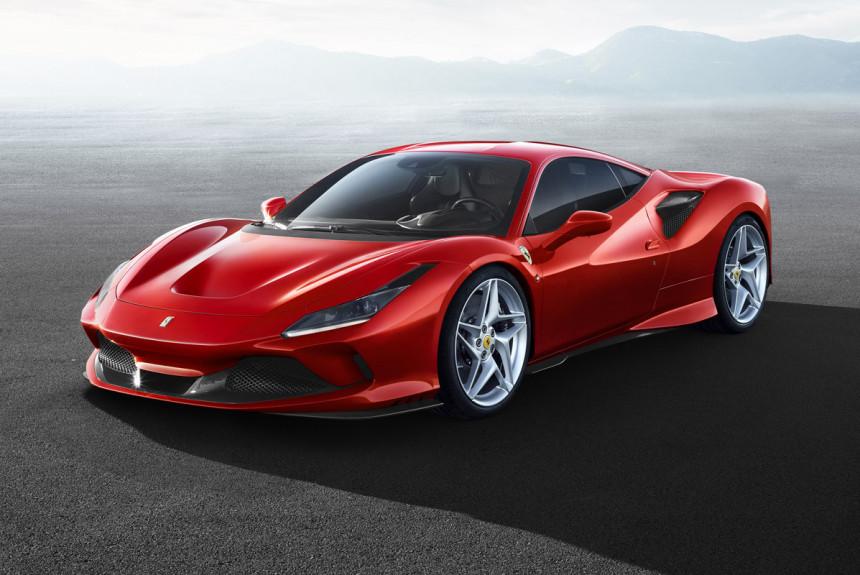 Суперкар Ferrari F8 Tributo: эволюция Италии продолжается