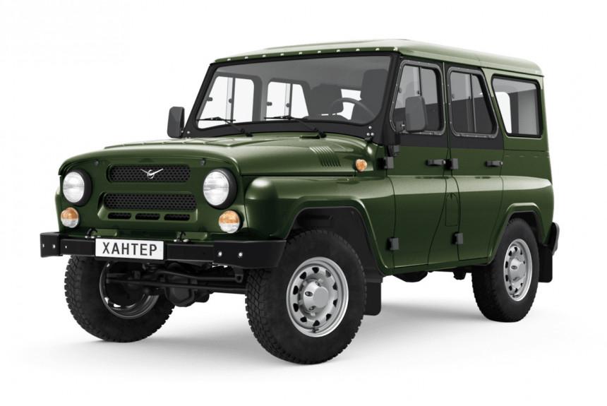 Mail.ru Авто: УАЗ обновил Хантер (но сейчас онстоит как Патриот)