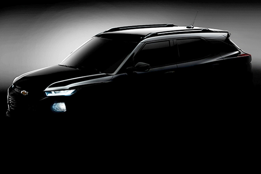 На подходе новый Chevrolet TrailBlazer