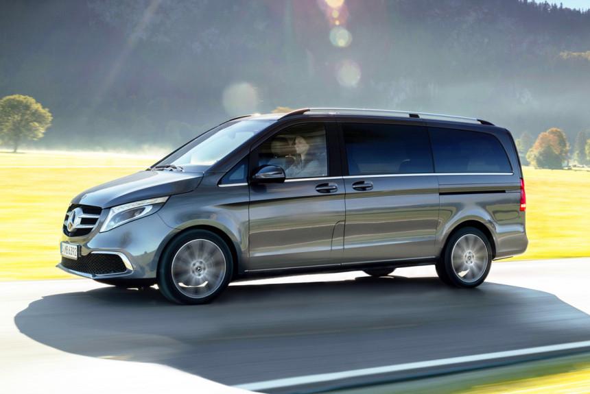 Улучшенный Мерседес-Бенс V-Class будет стоить от3,4 млн руб.