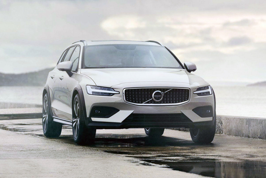 Новый Volvo V60 Cross Country: цена в России