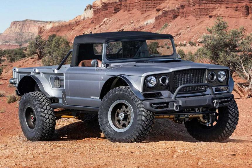 Шесть фантазий на тему пикапа Jeep Gladiator для Сафари