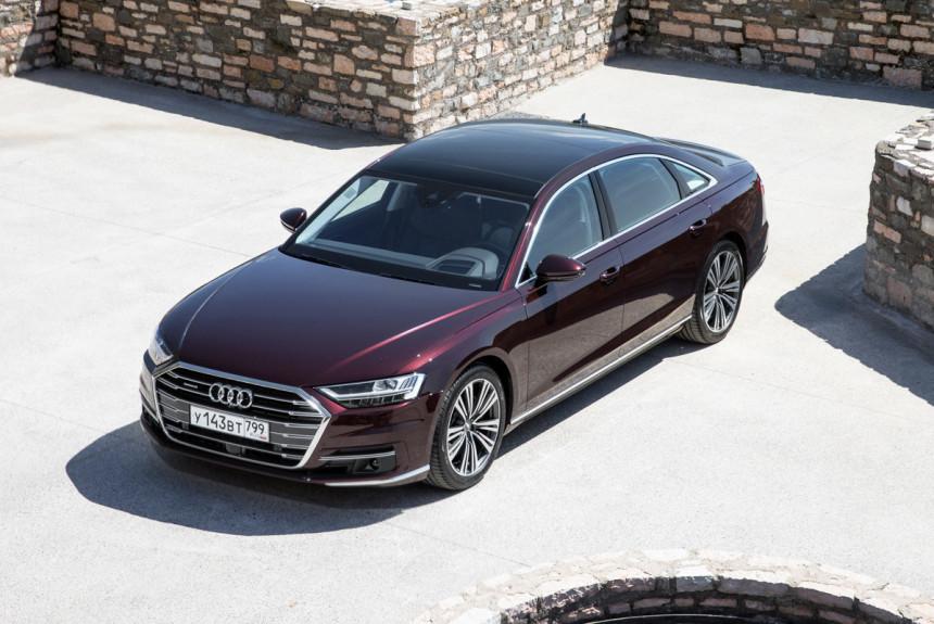 В РФ стартовали продажи дизельных седанов Ауди A8