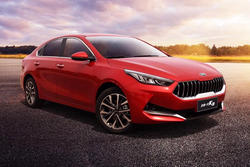 Cerato принял озверин: новый седан Kia K3 для Китая