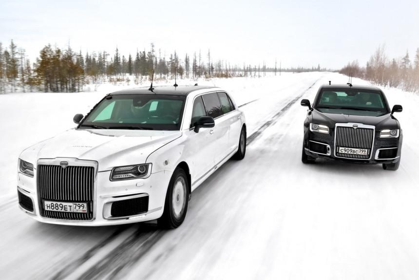 Сенат и царь-холод. Северный тест автомобилей Аурус