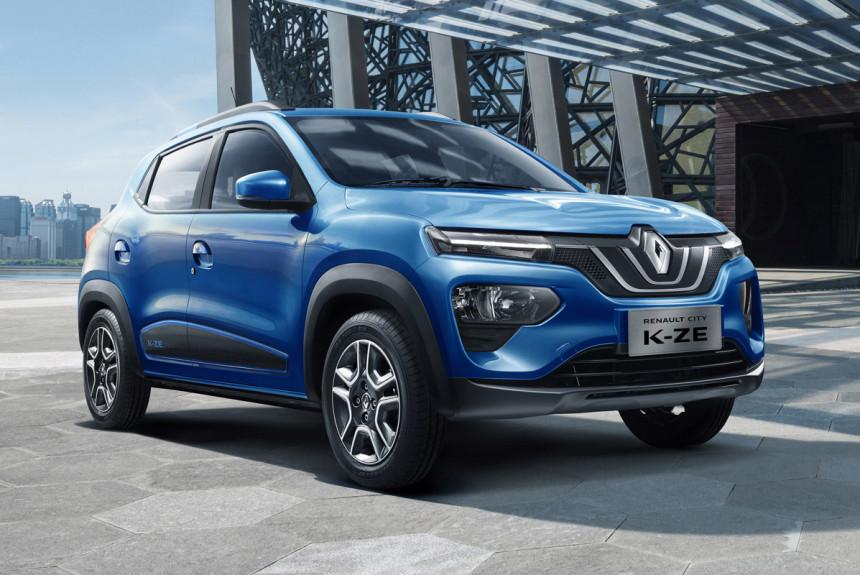 Дешевый электромобиль Renault City K-ZE: второй вариант