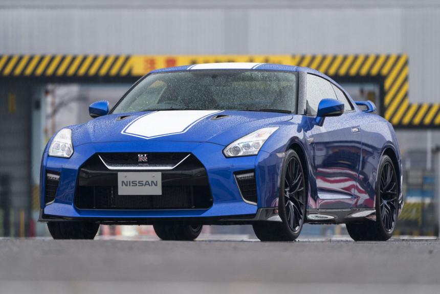 Nissan GT-R обновлен к 50-летнему юбилею