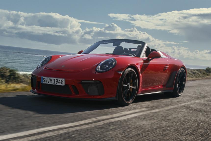 Дайджест дня: серийный 911 Speedster, Sion на СААБе и другие события автоиндустрии