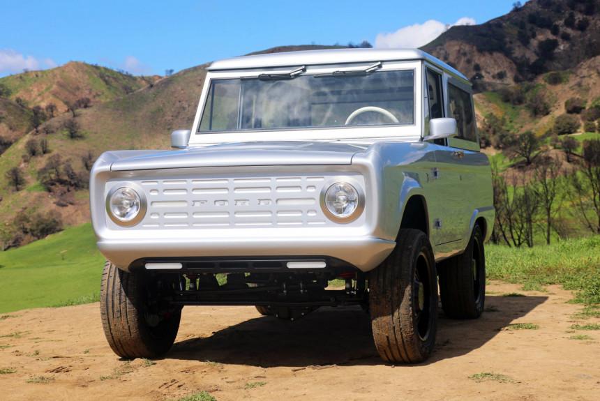 Перерожденный Ford Bronco электричество и углепластик