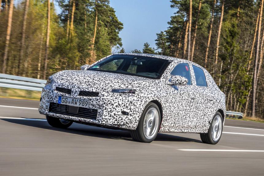 Opel Corsa нового поколения: уже скоро