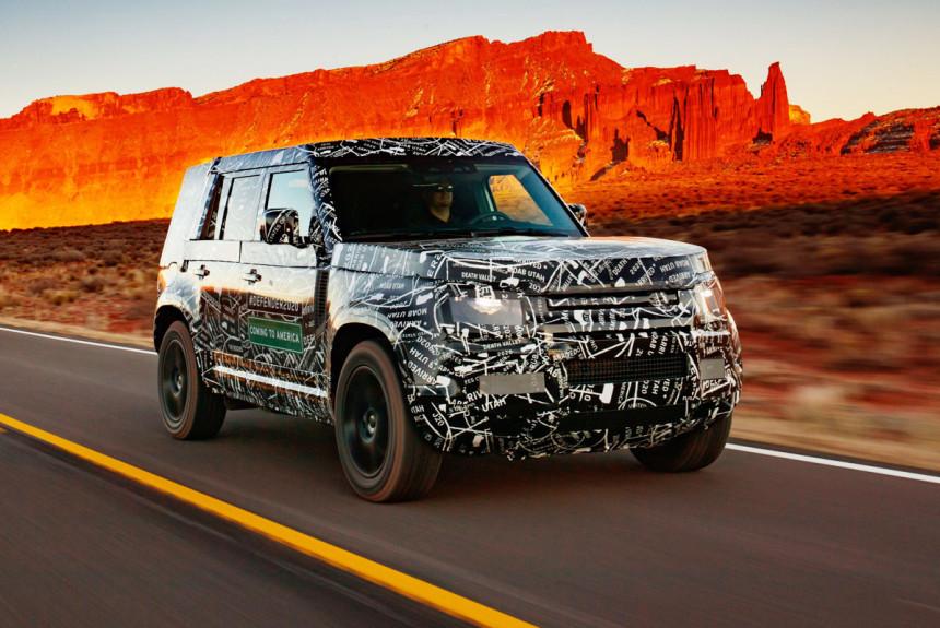 Новый Land Rover Defender: финальная стадия испытаний