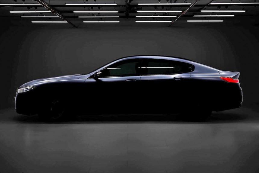 BMW восьмой серии Gran Coupe: без изгиба Хофмайстера