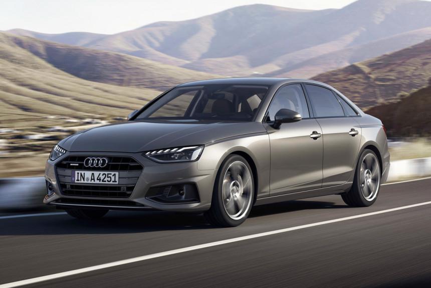 Представлено обновленное семейство Audi A4