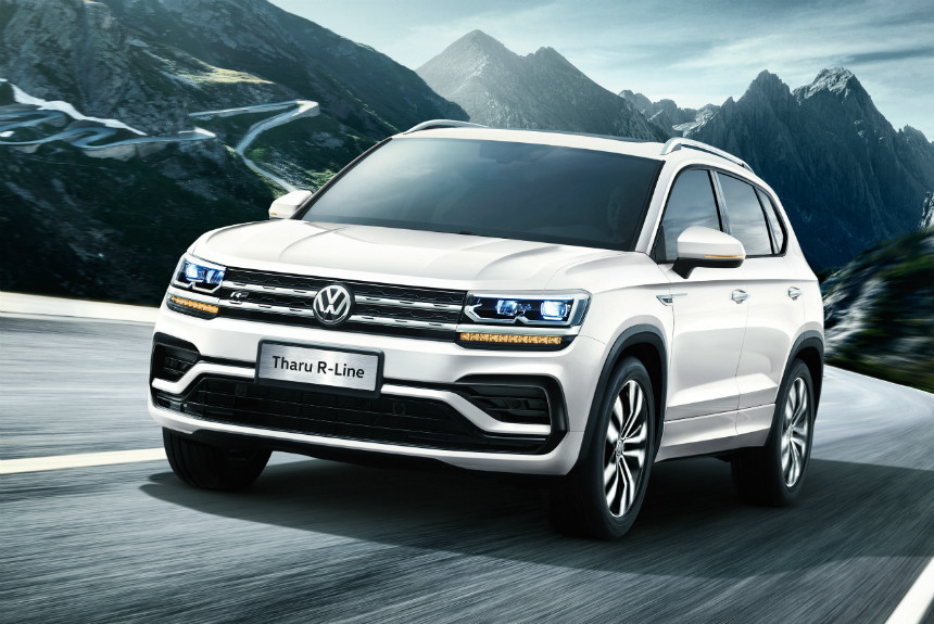 И все-таки Volkswagen Tharu: названо российское имя нового кроссовера