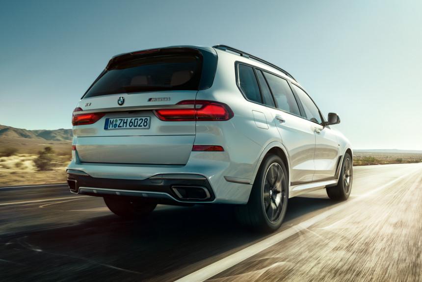 BMW X5 и X7 в версии M50i предложили 530 «лошадей»