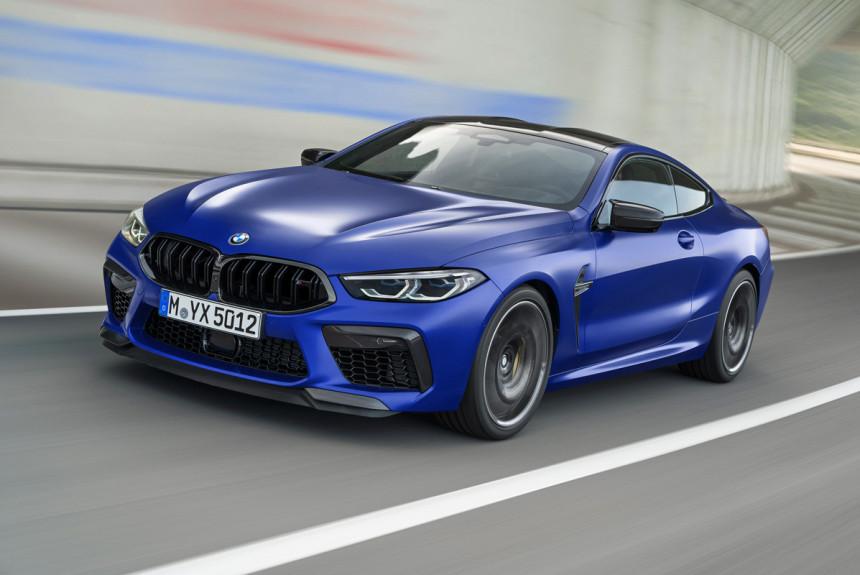 Суперкар BMW M8 дебютировал в четырех версиях