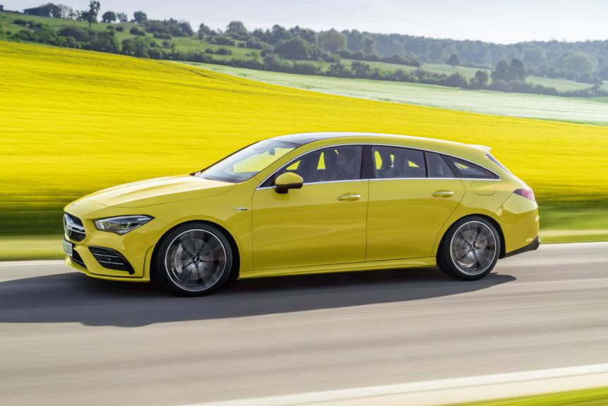 Подразделениe Mercedes-AMG представило самый мощнейший вмире 4-х цилиндровый мотор