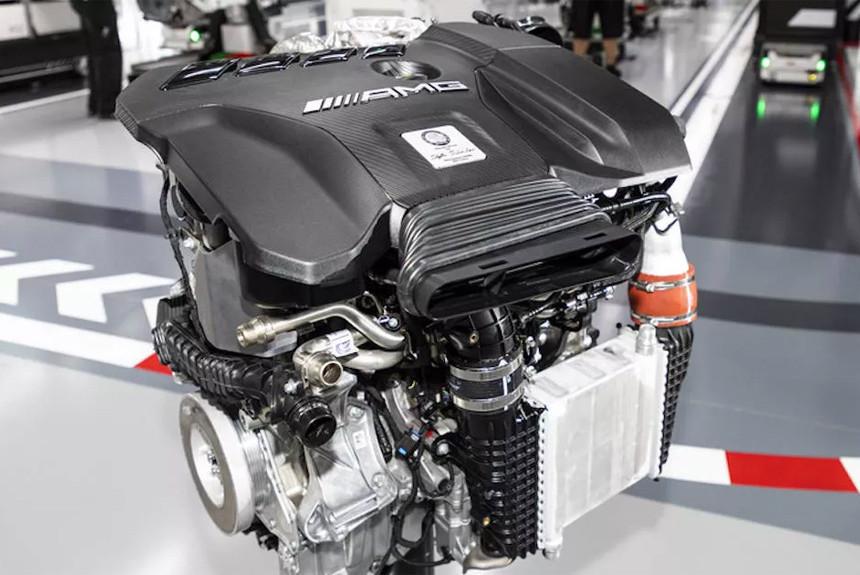 В AMG разработали самую мощную турбочетверку