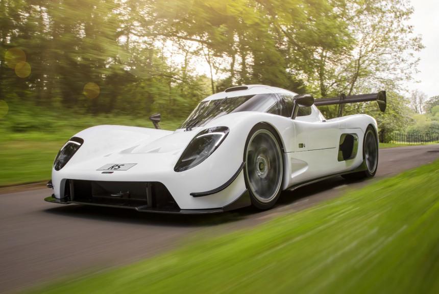 Состоялся дебют английского суперкара UltimaRS с1200-сильным мотором