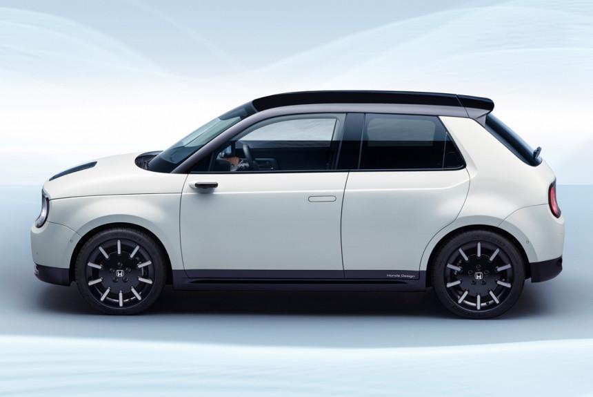 Электромобиль Honda e: технические подробности