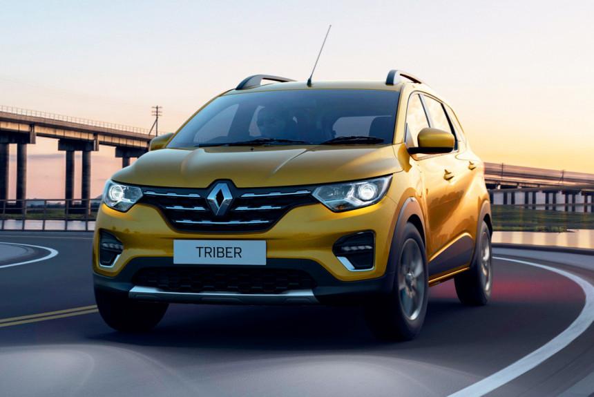 Представлен семиместный микровэн Renault Triber