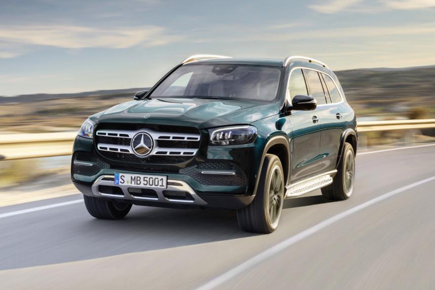 Новый Mercedes GLS оценили врублях