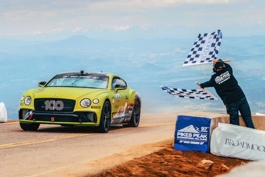 Дайджест дня: рекорд Bentley на Пайкс-Пик, последний Corvette C7 и другие события автоиндустрии