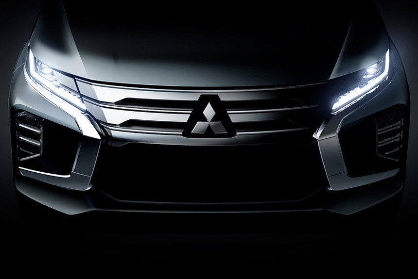 Mitsubishi Pajero Sport готовится к рестайлингу