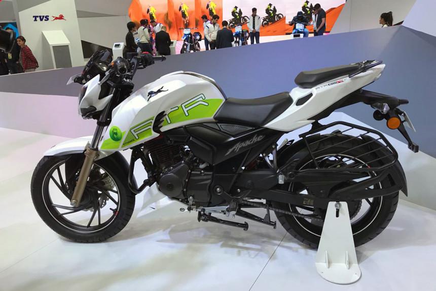 TVS Apache RTR 200: первый индийский алкомотоцикл — Авторевю