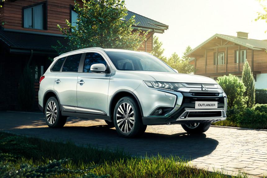 Семиместный Mitsubishi Outlander: объявлены российские цены