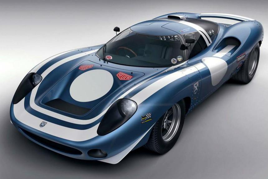 Спорткар Ecurie LM69 напомнил об уникальном Ягуаре