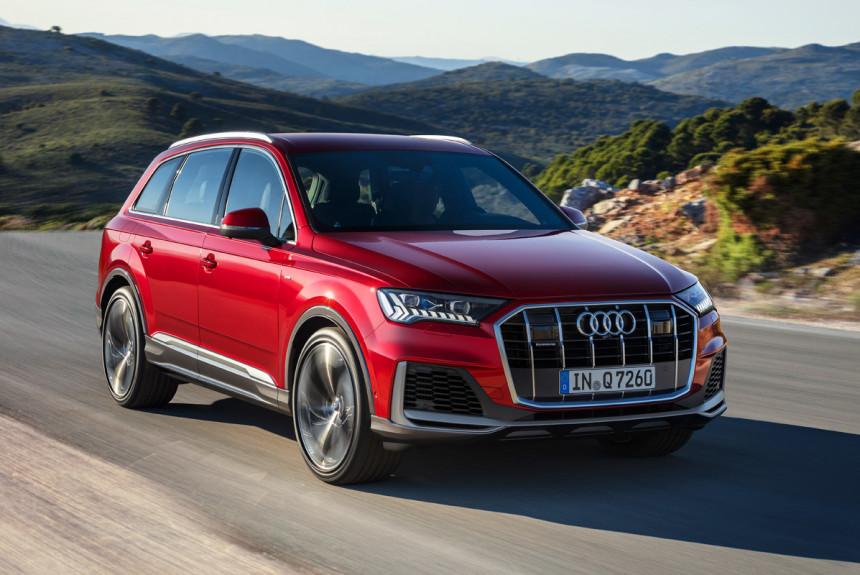 Обновленный Audi Q7 для России: останется только дизель