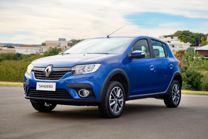 Renault Logan и Sandero: альтернативный рестайлинг
