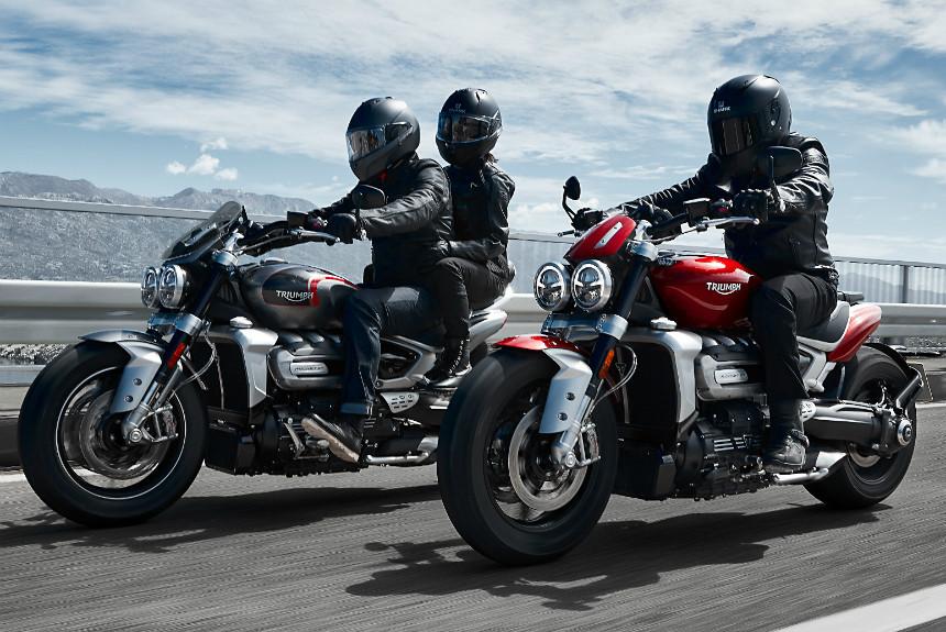 Мотоцикл Triumph Rocket 3 нового поколения: мотор 2.5 и две версии