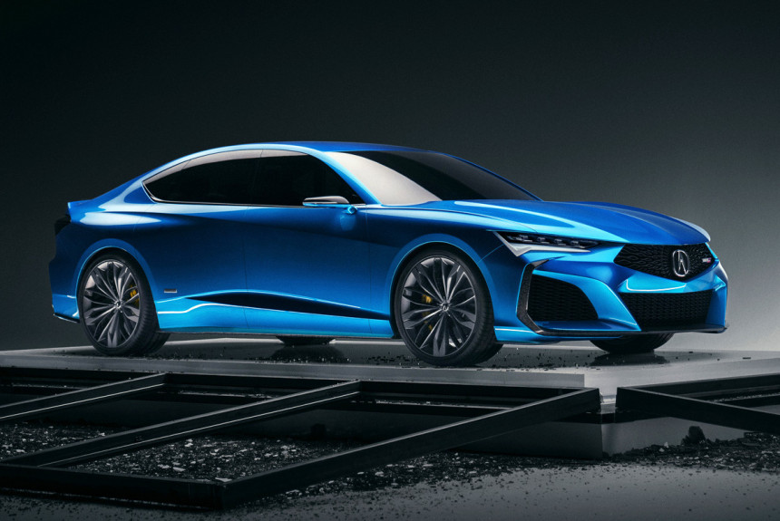 Acura Type S предвещает возвращение мощных версий