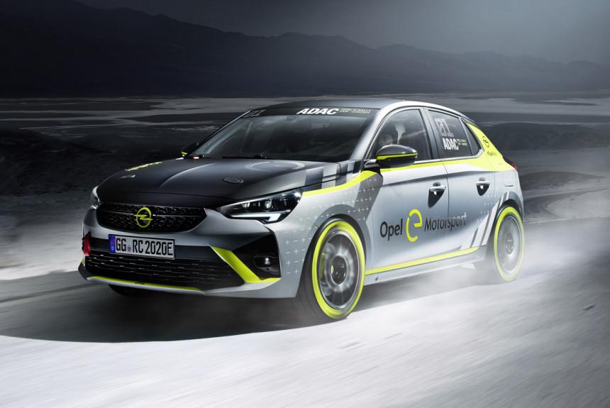 Opel Corsa-e проложит электромобилям дорогу в ралли