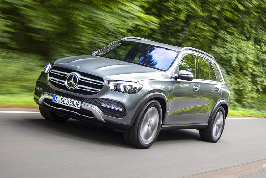 Представлены новые гибриды Mercedes Benz GLE и GLC