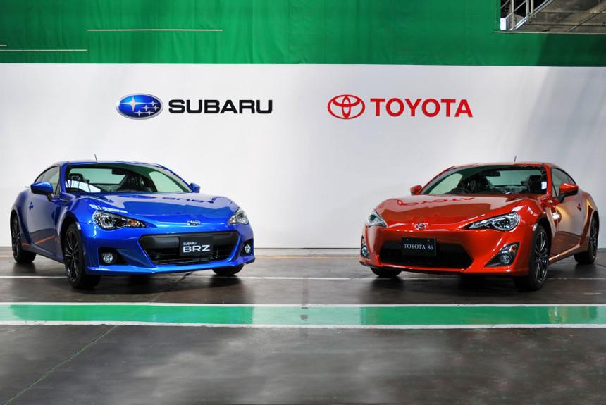 Toyota и Subaru развивают сотрудничество: впереди новые GT86/BRZ