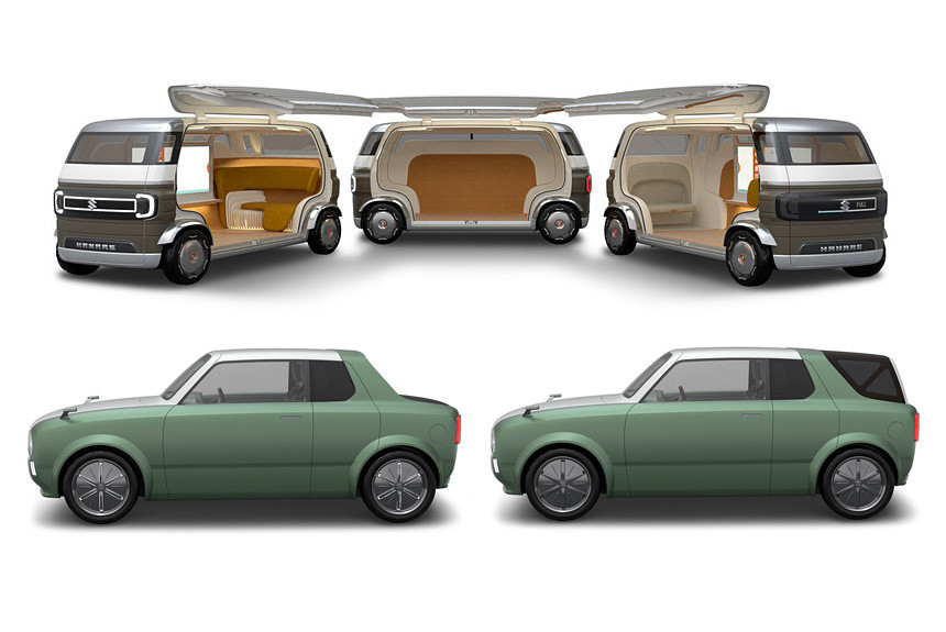 Suzuki на автосалоне в Токио: трансформер и беспилотник