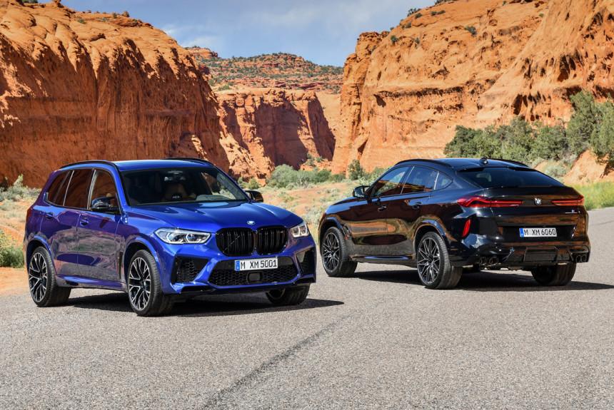 Кроссоверы BMW X5 M и X6 M дебютировали одновременно