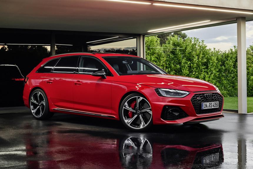 Универсал Audi RS 4 Avant обновлен по сокращенной программе