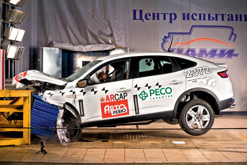 Renault Arkana: блэкаут, краш-тест и хэппи-энд