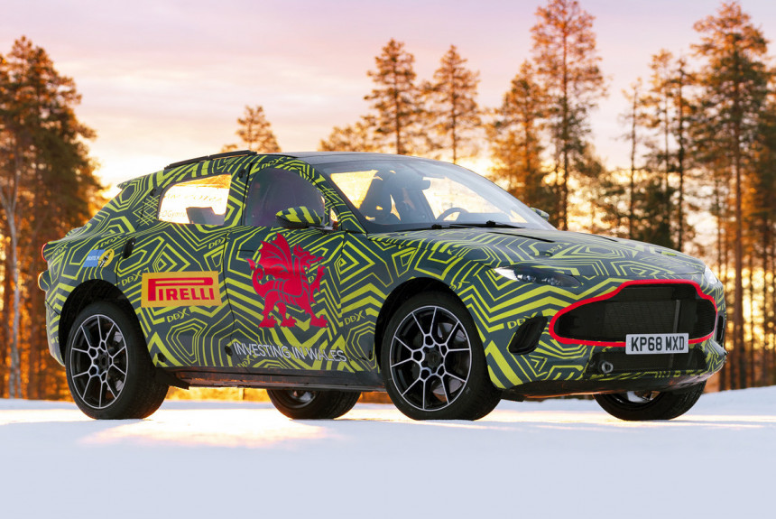 Кроссовер Aston Martin DBX: подробности и заказы в России