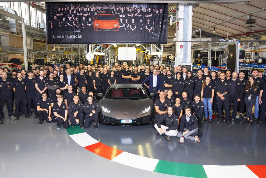 Huracan стал самым массовым Lamborghini (ненадолго)